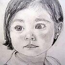 Peta's Portrait by Angela Gannicott