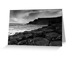 Giants Causeway 2, Northern Ireland Greeting Card