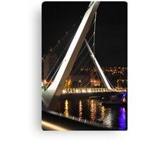 Peace Bridge 3 Canvas Print