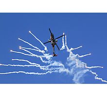 RNLAF AH-64D APACHE DEMO TEAM  Photographic Print