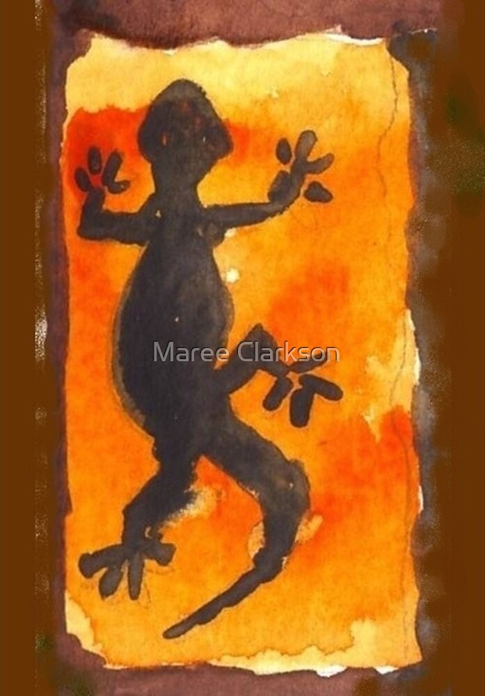 African Gecko - Ethnic series by Maree Clarkson