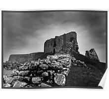 Duffus Castle, Moray, Scotland Poster