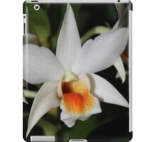 Orchid Making a Silly Face iPad Case/Skin