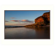 Cove Bay, Moray, Scotland Art Print