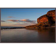 Cove Bay, Moray, Scotland Photographic Print