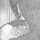 Robert Mitchum by Adzee