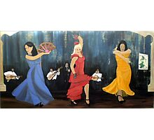 Flamenco scene Photographic Print