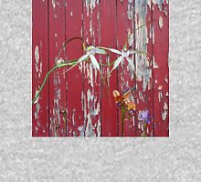 Longicordia Orchid with Red Painted Wall, native orchids of Western Australia. Classic T-Shirt