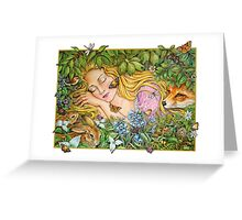 Woodland Beauty Greeting Card