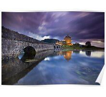 Scotland: Eilean Donan. Time & Tide Poster