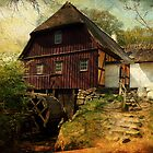 Danish Watermill...Funen 1600 by © Kira Bodensted