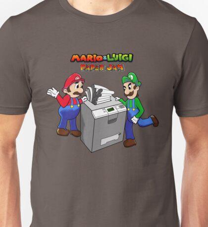 Mario and Luigi Paper Jam Unisex T-Shirt