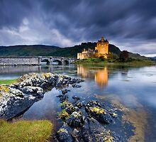 Scotland: Eilean Donan Twilight by Angie Latham