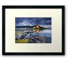 Scotland: Eilean Donan Twilight Framed Print