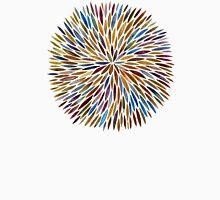 Watercolor Burst – 70s Palette Unisex T-Shirt