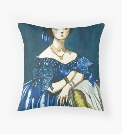 'Cat Lady' Throw Pillow