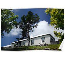 Hillside Bermudan House  Poster