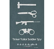 Tinker Tailor Soldier Spy Photographic Print