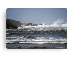 North Jetty, Ocean Shores, Washington Canvas Print