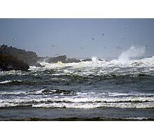 North Jetty, Ocean Shores, Washington Photographic Print