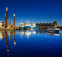 Freemantle Harbour by Rob Hawkins