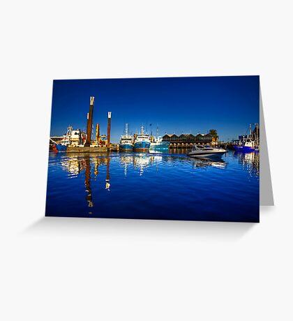 Freemantle Harbour Greeting Card