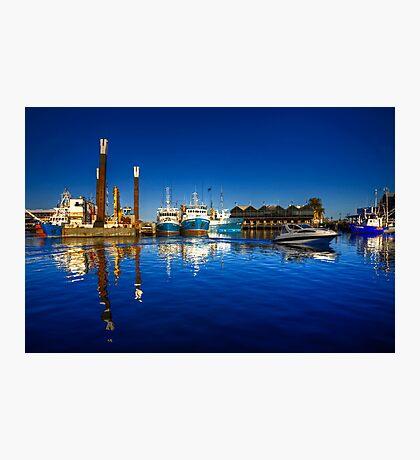 Freemantle Harbour Photographic Print