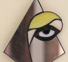 Yellow Eye through the Mirror by cishvilli