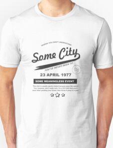 Some City Shirt- White Unisex T-Shirt