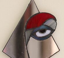 Red Eye through the Mirror by cishvilli