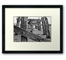 Harbour - Decay Framed Print