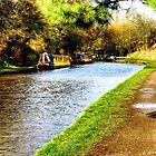 Audlem Canal  by David J Knight