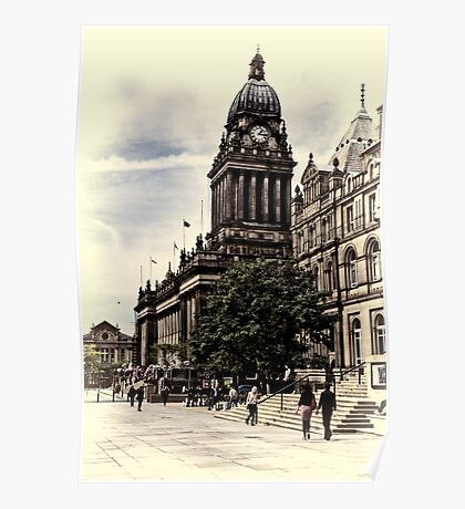Leeds Town Hall Poster