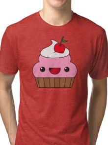 Cute Cupcake Tri-blend T-Shirt