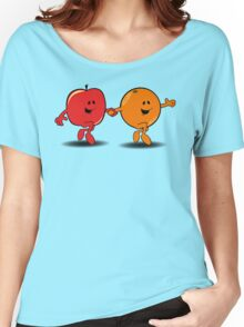 Apples and Oranges Women's Relaxed Fit T-Shirt