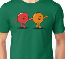 Apples and Oranges Unisex T-Shirt