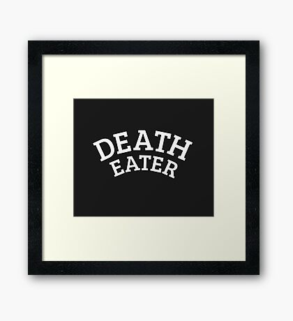 Death Eater Reversed Framed Print