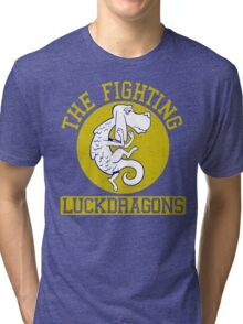 The Fighting Luckdragons Tri-blend T-Shirt