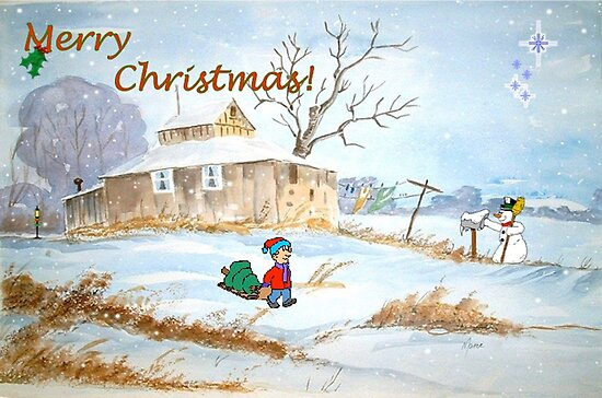 Merry Christmas! by Maree Clarkson