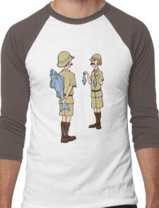 Fish Slapping Dance Men's Baseball ¾ T-Shirt