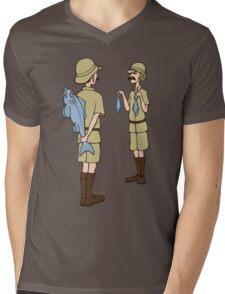 Fish Slapping Dance Mens V-Neck T-Shirt
