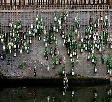 Beer bottles, Xi Tang, Zhejiang by DaveLambert