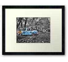 Explosion in Kansas Framed Print