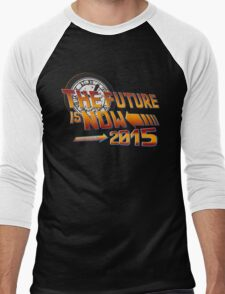 Back to The Future is Now 2015 Men's Baseball ¾ T-Shirt