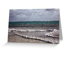Coloured Waters Greeting Card