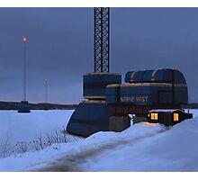 Omväxlare och Nodmaster, Närke Väst Energi Photographic Print