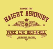 Property of Haight Ashbury - Peace-Love-Rock and Roll by GUS3141592