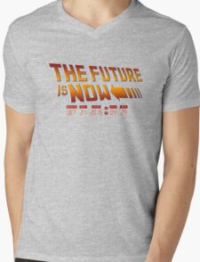 The Future is Now 2015 Mens V-Neck T-Shirt