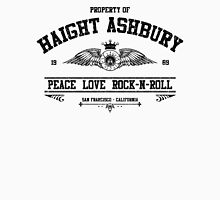 Property of Haight Ashbury - Peace-Love-Rock and Roll Unisex T-Shirt