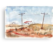 The Arid Karoo, South Africa Canvas Print
